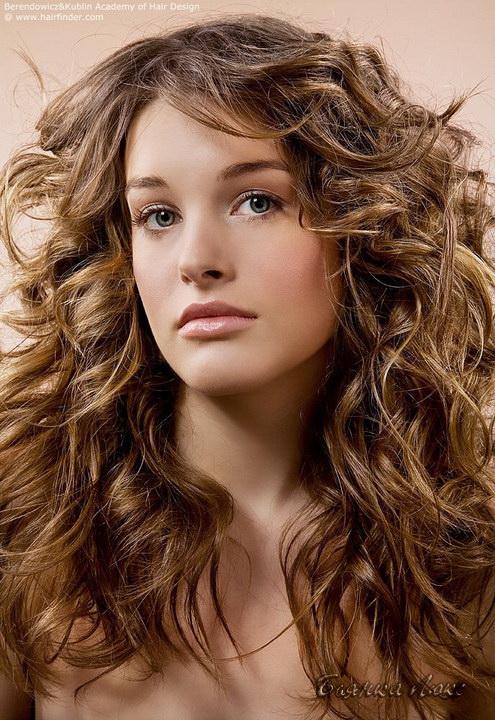 Кератиновая завивка / химическая завивка волос